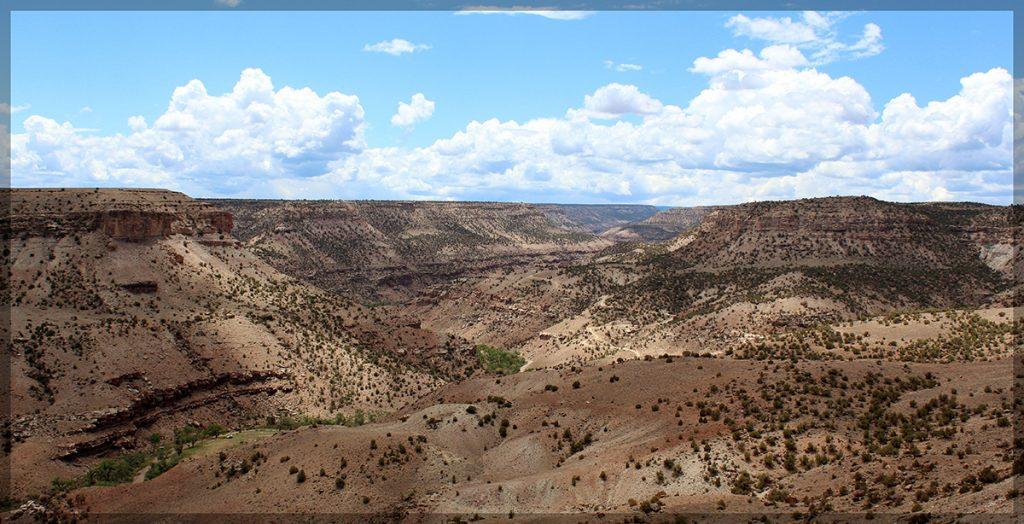roubideau, canyon, colorado,view
