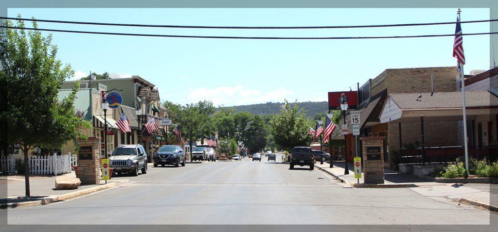 cedaredge, colorado, main, street,