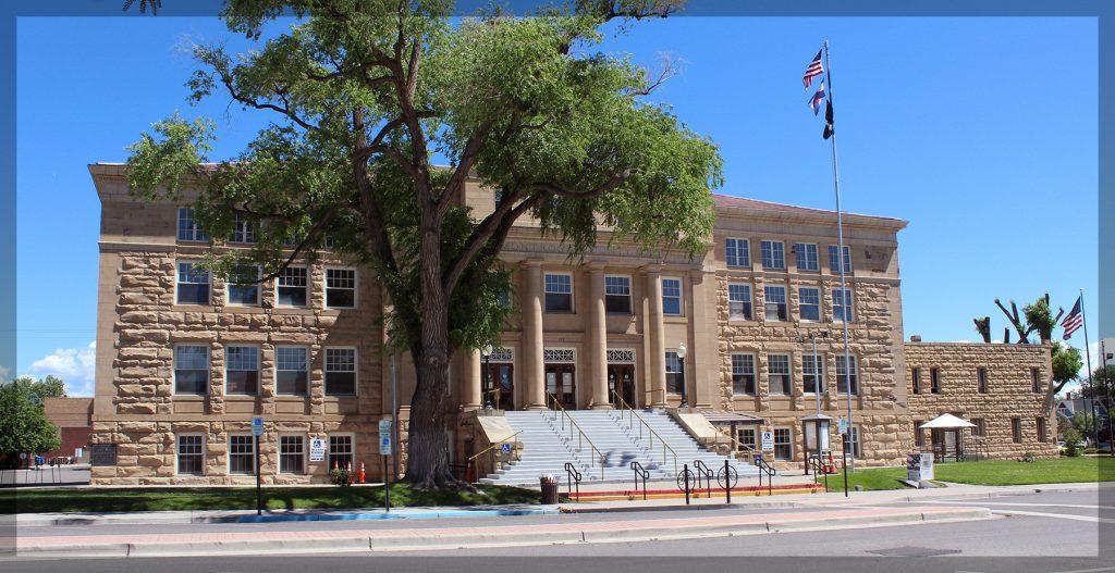 montrose, colorado, court house,