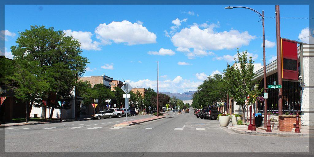 montrose, colorado, main, street,